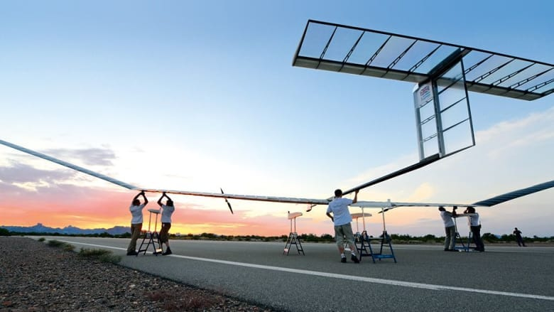 Airbus' Zephyr solar-powered unmanned aircraft will be launched from Wyndham airfield | Airbus