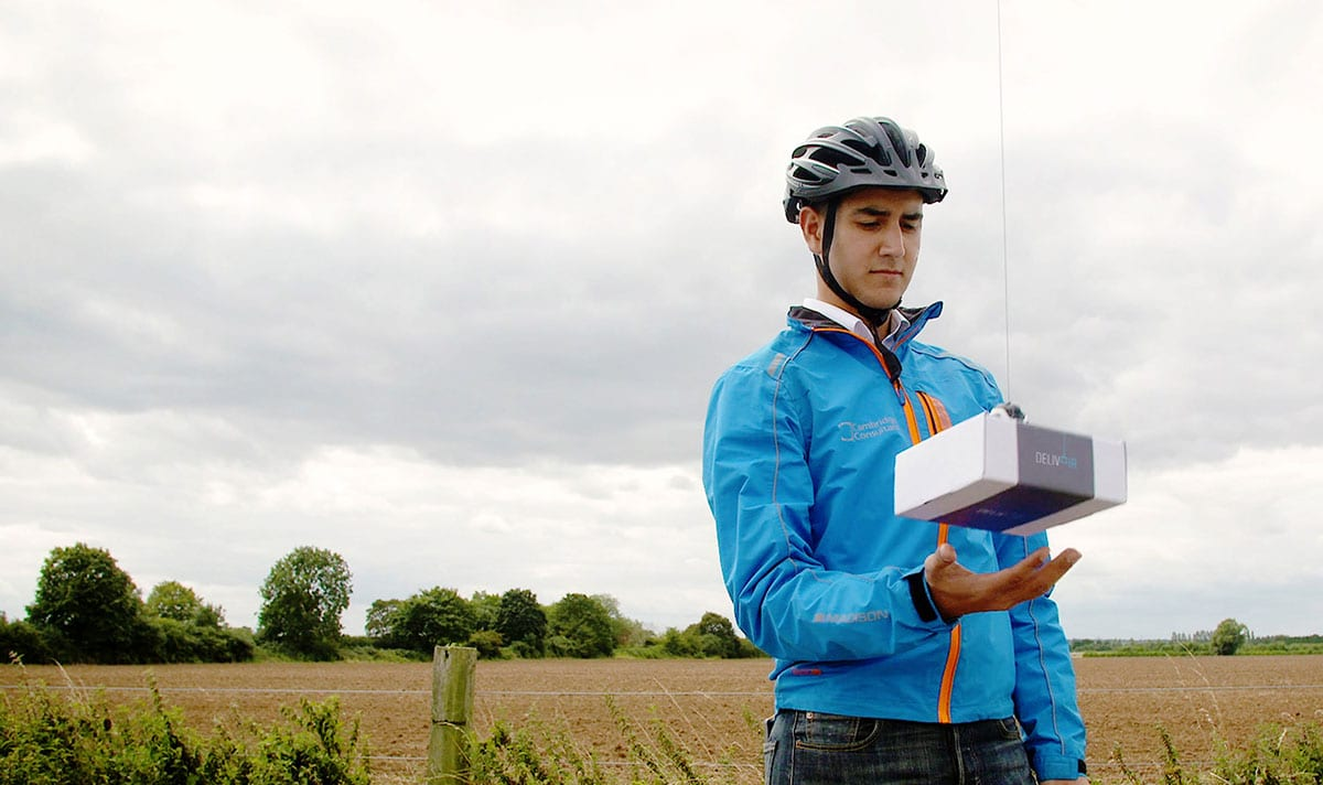 Delivair Drone Delivery Cambridge Consultants