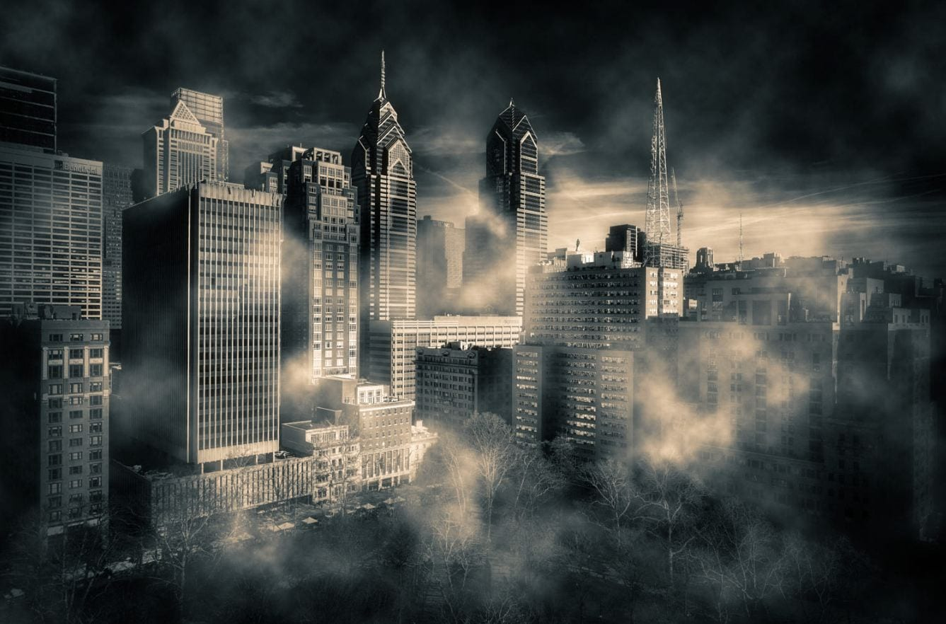 City Center Fog - Darren LoPrinzi
