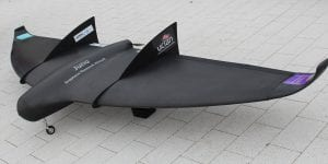 Juno - a novel UAV with a graphene skin, designed and built by University of Central Lancashire (UCLan) with the graphene supplied by Haydale