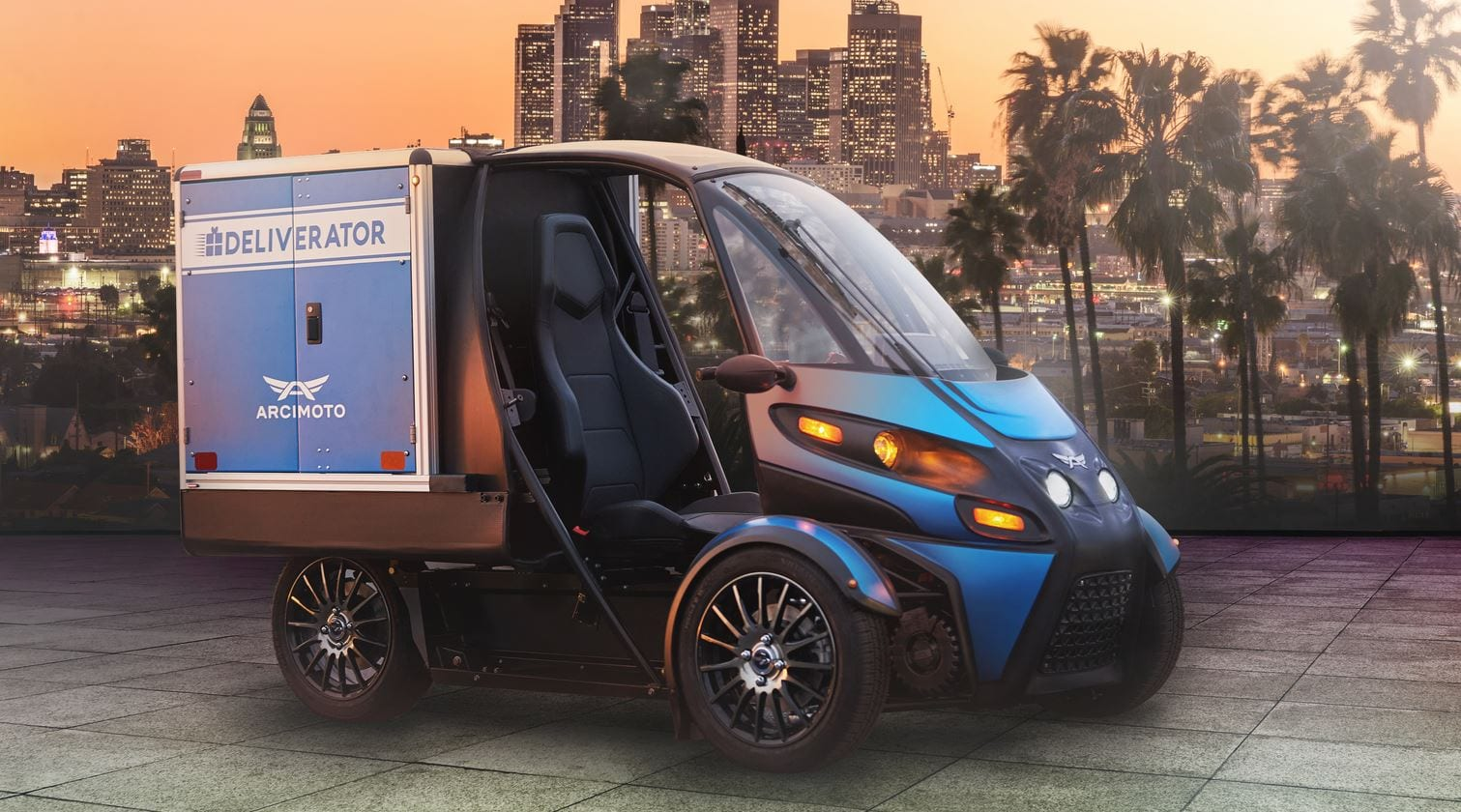 The Deliverator is a pure electric, last-mile delivery solution designed to more quickly, safely, and affordably get your goods where they need to go.