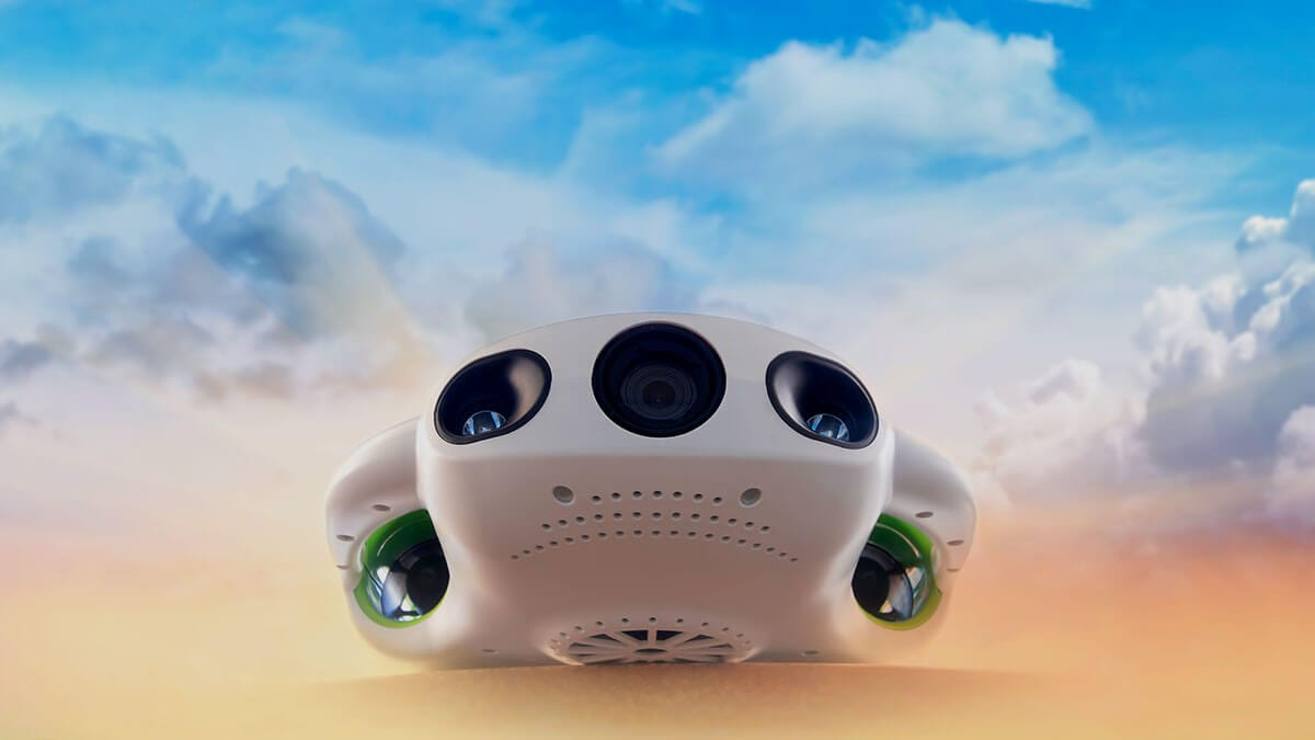 New 4K Zoom Underwater Drone from Youcan Robot
